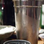 燻製と地ビール 和知 - 不老泉 熱燗