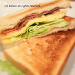 カフェ ムリクリ - サンドイッチ