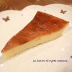 カフェ ムリクリ - 自家製チーズケーキ