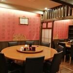 中華料理 華景園 - 素敵な円卓もございます