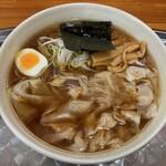 川越大勝軒 - 料理写真:ワンタン麺(中盛り/1.5玉)