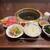 凱旋門 - 中盛焼肉定食(ライス大盛)・ウーロン茶