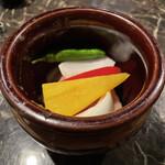 京の焼肉処 弘 - 壺漬けホソ(旨塩ダレ)
