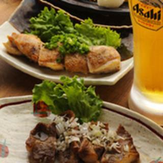 【平日限定】煮込みと惣菜料理7品+生付飲放セット!3500円