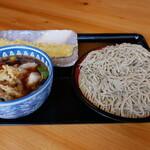 うどん 園 - 料理写真:肉汁そば 中