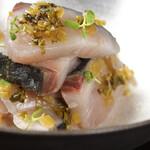 ルパド ナオシマ - 岡山県産鰆のわさび菜和え