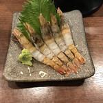 村上水産仲買人直営店鮮魚部 - 料理写真:もさ海老