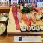 大船鮨 - 料理写真:ランチ にぎりセットB