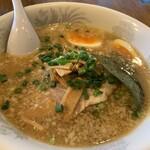 麺僧 - 味玉ラーメン(醤油)