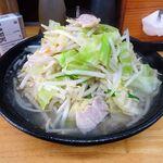150435184 - レディースセット(タンメン・餃子2個)(大盛)1,000円、野菜増し(無料)、ライス(11:00-15:00無料)