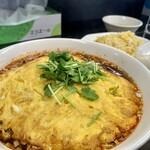 150438402 - 黒酢天津麺 大盛