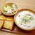 CAFE&BAKERY MIYABI - 彩り野菜クラムチャウダー セット ¥870