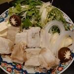 土佐料理 司 - 2021年2月 九絵鍋Bコース(九絵鍋) 11000円×2+税