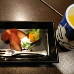 土佐料理 司 - 2021年2月 九絵鍋Bコース(デザート) 11000円×2+税