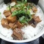 麺 徳次郎 - チャーシュー丼