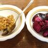 あさくま - 料理写真:モロ味噌、柴漬け