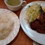 クック - 料理写真:豚の生姜焼き定食。ポークジンジャー。
