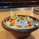 150448017 - ラタトゥーユの温玉サラダ
