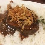 欧風土鍋カレー近江屋清右衛門 - トロトロ牛バラ肉 フライドオニオン