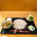 逸香 - 料理写真:小鴨せいろ 小天丼