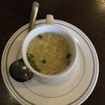 ボンベイ - スープ。サービスでもらえました。