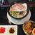龍潭酒家 - 料理写真:特製豚骨ラーメン,魯肉飯