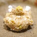 日本橋 蕎ノ字 - 粗挽きの蕎麦がき