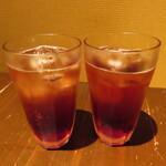 坊乃 - 「飲み放題」カシスソーダ