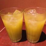 坊乃 - 「飲み放題」バナナグレープフルーツ