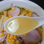 手打 焔 - スープ