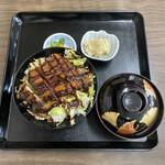 角屋食堂 - 料理写真:味噌カツ丼@650