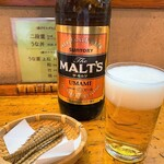 うなぎの甚八 - うなぎの甚八@掛川 ビールとボーンフライ