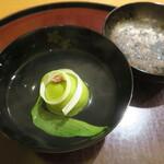 150471935 - 煮物椀 うすい豆饅頭