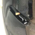 150476752 - タイヤに小枝が刺さってた〜 タイヤ交換しなきゃ