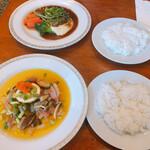 かざみどり - BランチとCランチ(※スープと食後の飲み物付き)