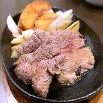 味囲楽 - 国産牛ランプステーキ¥880 2021.4.16