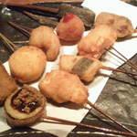 いなせや - 料理写真:職人田中君の串揚げ10本盛