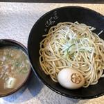 自家製麺 つけ麺 桜 - 料理写真:味玉農耕つけ麺大盛り