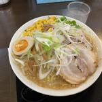 手打ち麺処 暁天 - コクたん麺大盛 ¥1100