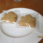 クックハウス火土水 - 2012.9.29 コーヒーに クッキーがついてきました。