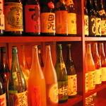 ねりちゃぎ - 焼酎、梅酒、日本酒が多くてとにかく安いから、今日は端から順に飲み比べ!なノリで利き酒大会も!
