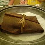 ホテル亀屋 - 鰆の朴葉焼き