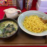 ラーメン山岡家 - ホタテ塩とんこつつけ麺(940円)
