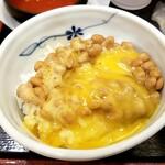 そばいち - 納豆卵かけご飯