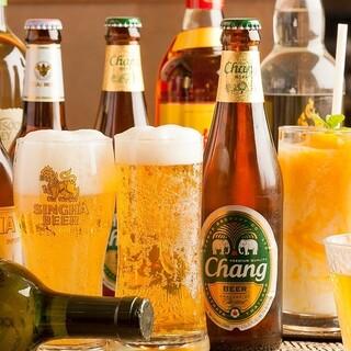 ≪飲みやすい!≫タイの現地ビールを飲み比べ♪