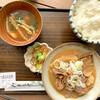 南部よろこび茶食堂 - 料理写真:南部たけのこ味噌もつ煮定食 ¥790 (税込)