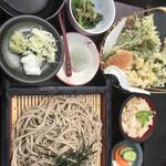そば処 東雲 - 季節の御膳 大盛 1610円