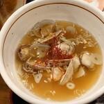 150529611 - ●アサリ潮つけ麺 950円 のつけ汁