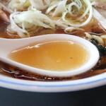 150531217 - 手打チャーシューワンタンメンのスープ