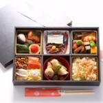 御料理 堀川 - 料理写真:【期間限定】「夜桜弁当」